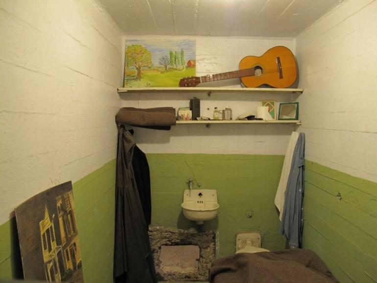 Pod hotel or Alcatraz cell? -