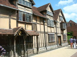 Outside of Shakespeare's House , Brant G - July 2013