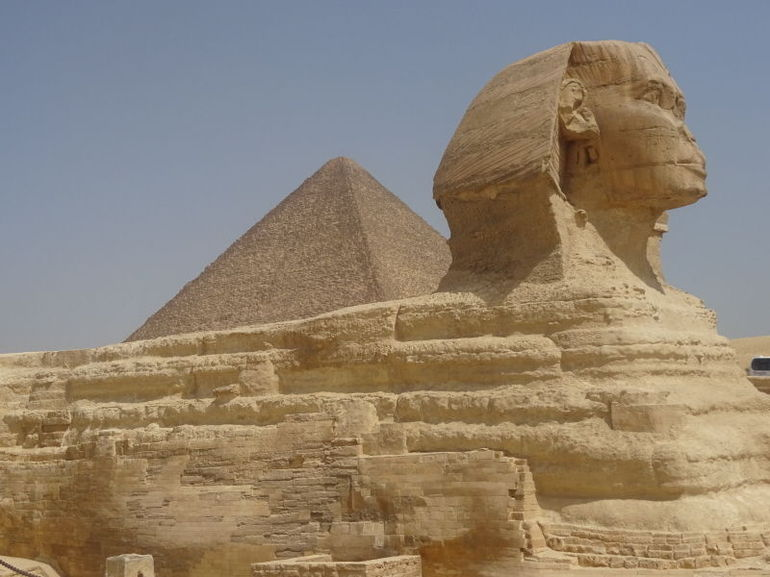Half-Day Private tour to Pyramids of Giza and Sphinx photo 19