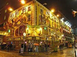 the pub where we met for the tour and the start in the Temple Bar area , David H - October 2015