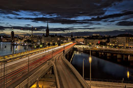 Stockholm by Night, HTravelerUK - April 2014