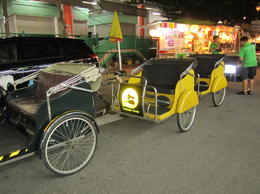 Your trishaw from Chinatown to Clarke Quay , Barry J - August 2013