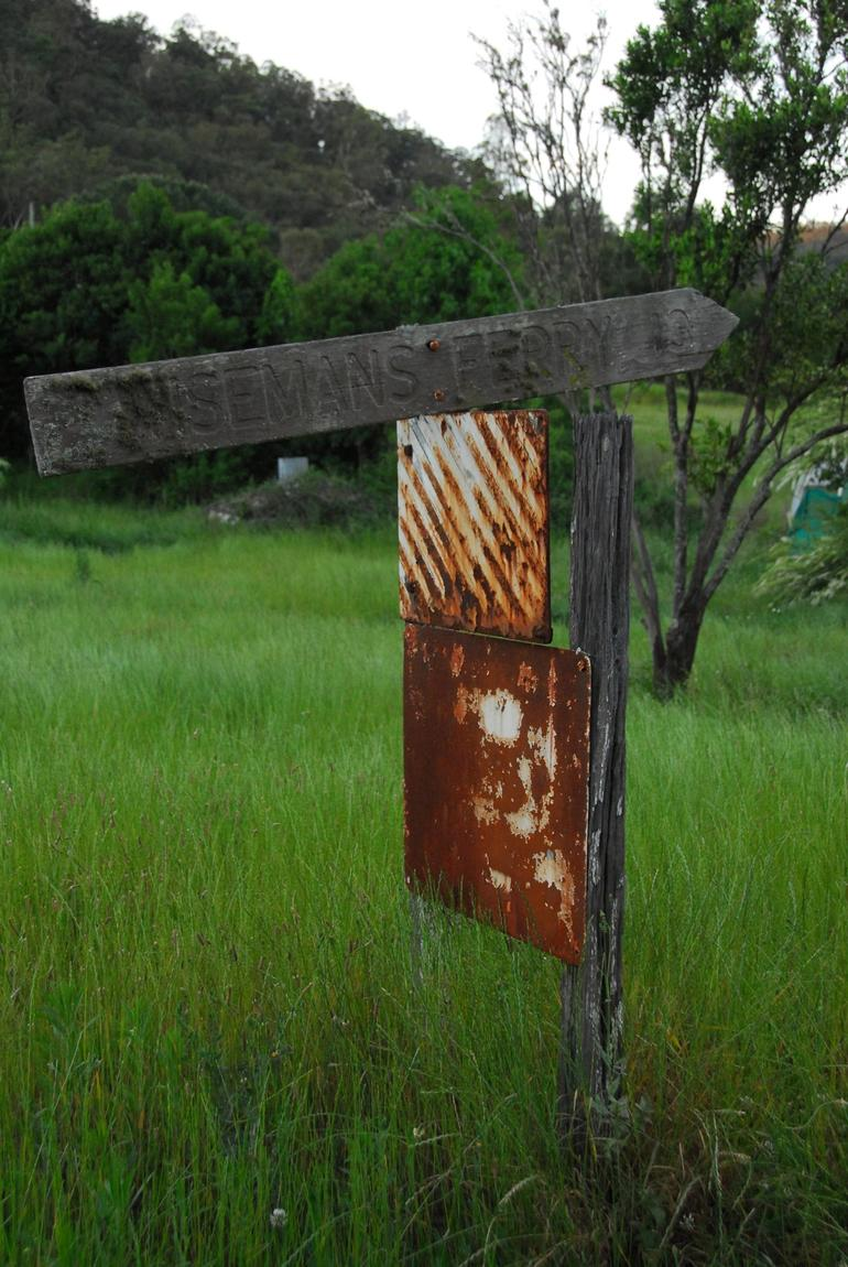 Very old sign! -