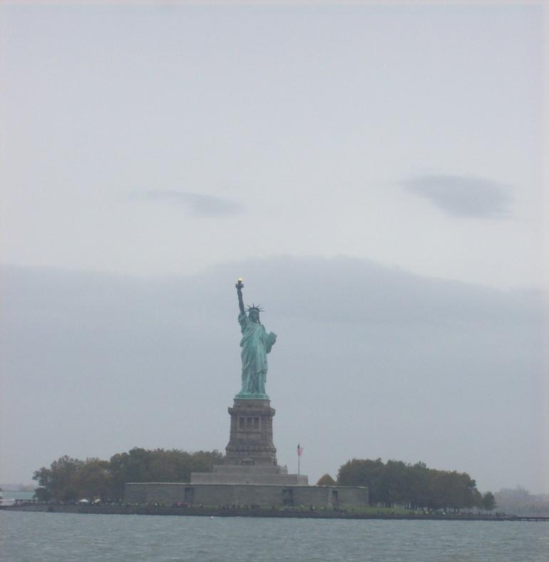 view of statue of liberty - New York City