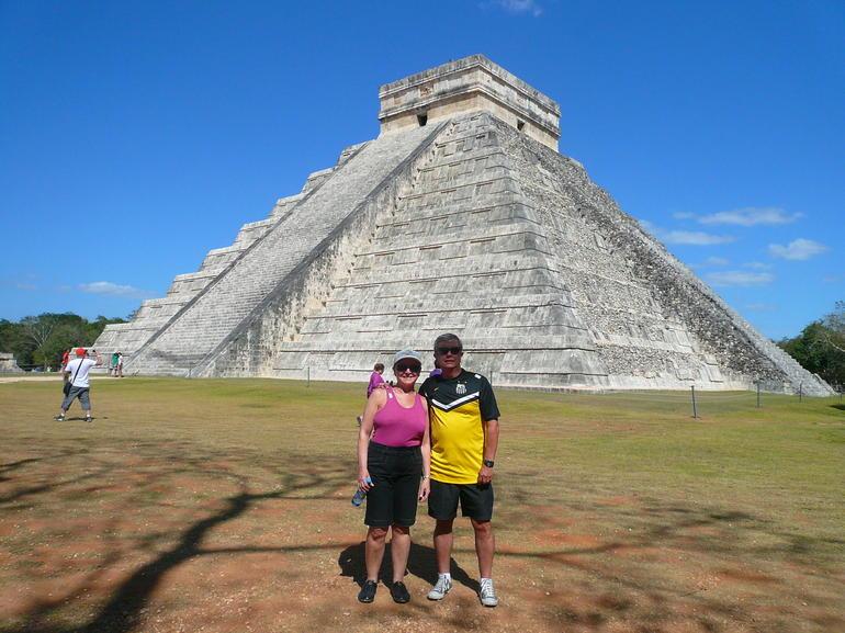 We in Chichen Itza - Cancun
