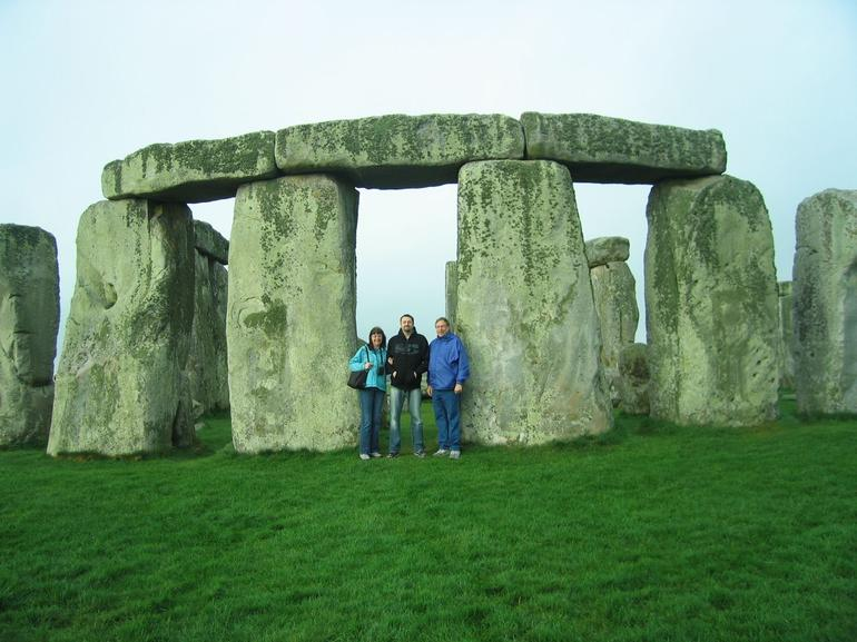 We Three at Stonehenge - London