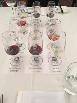 Tasting some of the Sandleford product , Colin-Maria T - October 2016