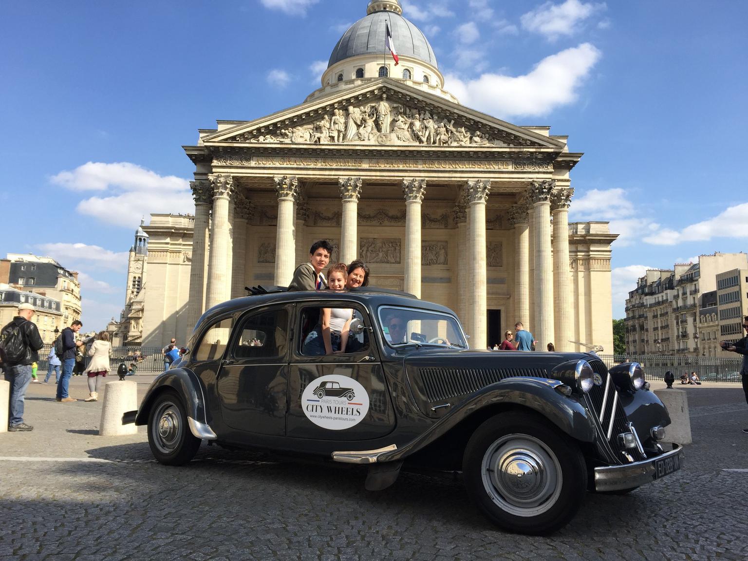 MORE PHOTOS, Paris Private Tour in Classic French Citroën