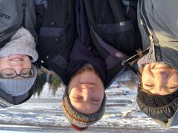Selfie at Pingvelir National Park , samanthasteele - February 2018