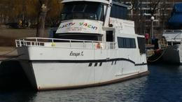 Escape TO. Luxury Motor Yacht at Harbourfront,Downtown Toronto, CANADA , Private Yacht- ESCAPE TO. - April 2017