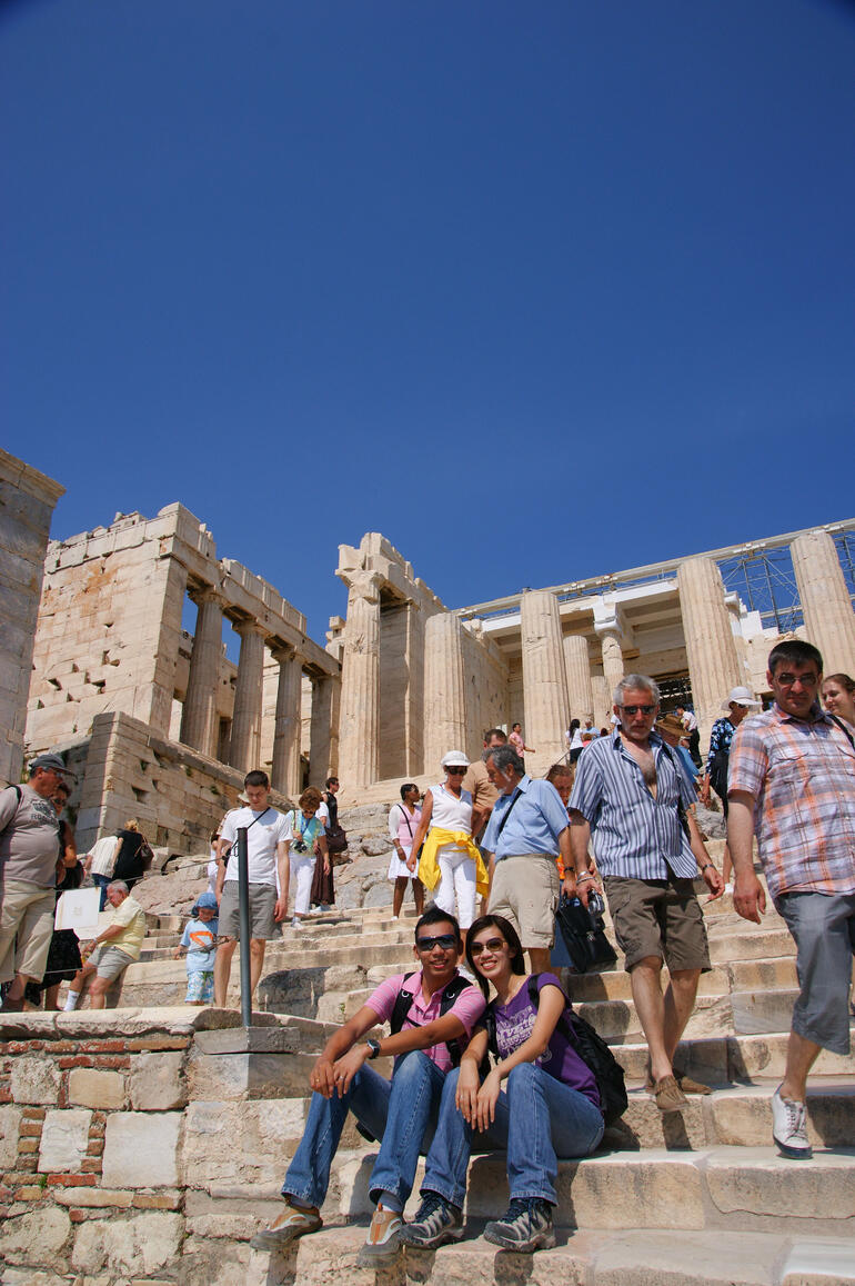Acropolis Entrance -