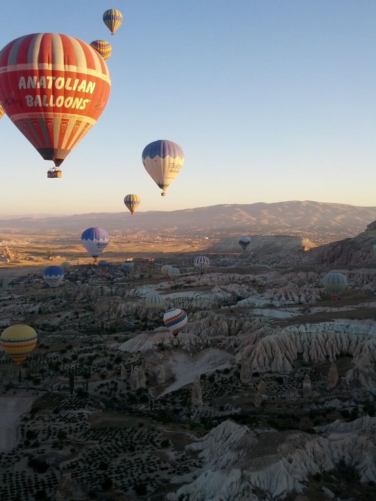 Balloons over Cappadocia - Cappadocia
