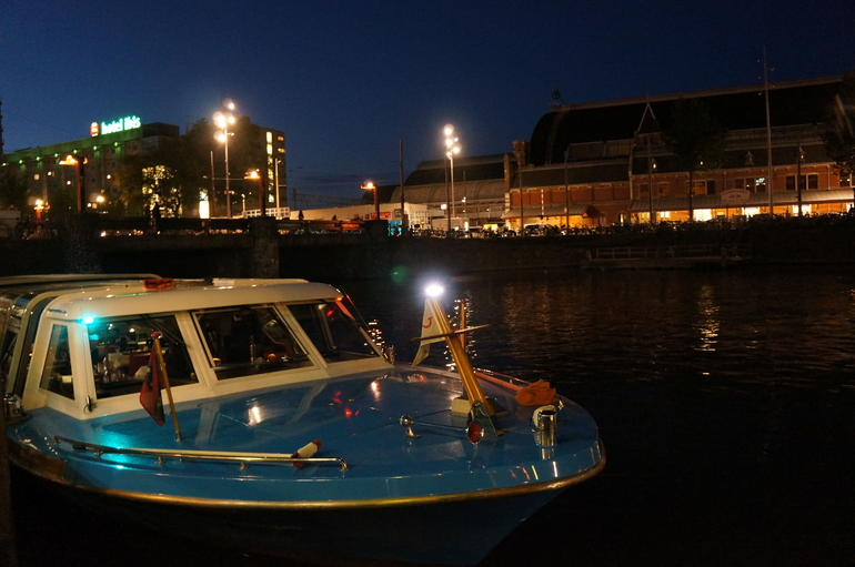 Boat for Canal Cruise at Holland International - Amsterdam