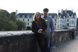 Cecilia and Nick in the gardens at Chenonceau , Nicholas P - November 2014