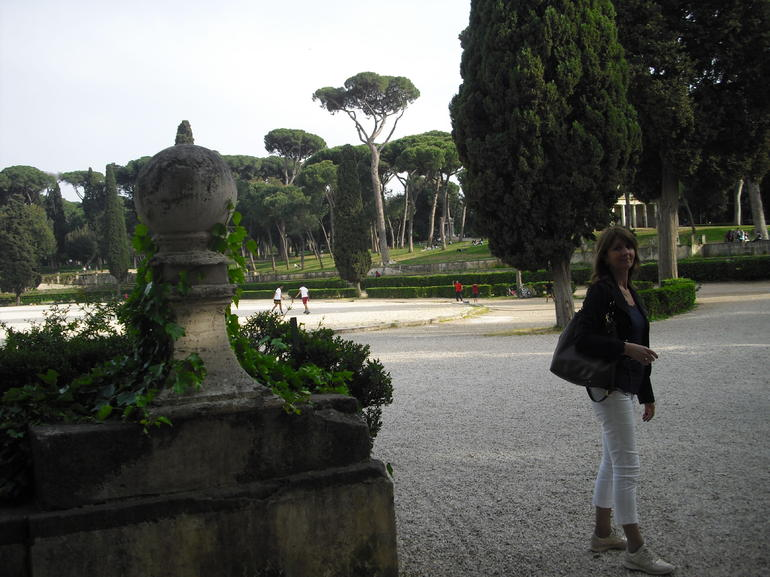 Borghese gardens, Rome - Rome