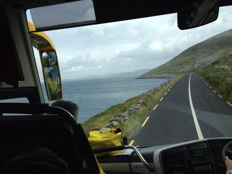 Coastal drive along Galway Bay - Dublin