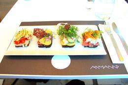 Open-faced Sandwiches at Ammans - September 2013