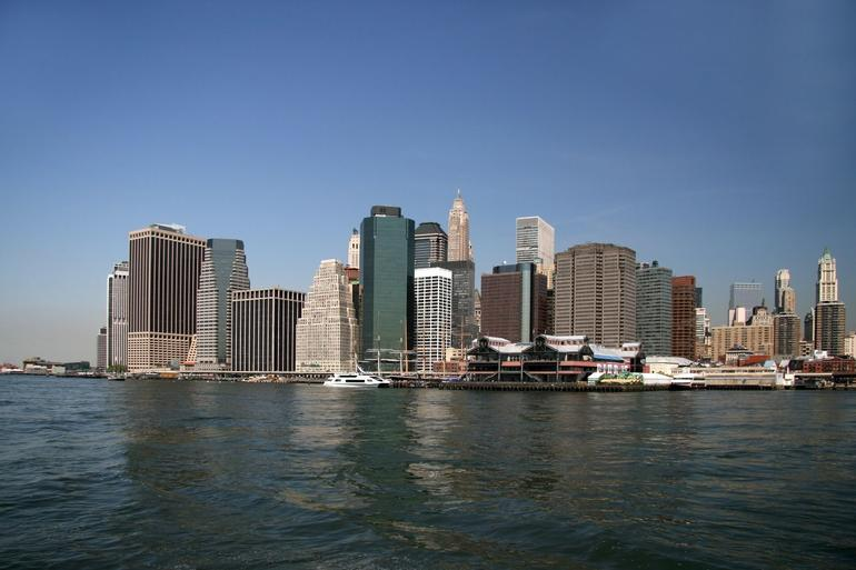 Downtown from East River - New York City