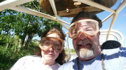 Glen and Denise selfie. , Glen H - March 2015