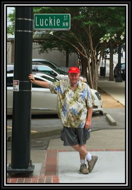 Roger Findley on his way to the Atlanta Segway Midtown Sightseeing Tour, July 2015. , Roger F - September 2015
