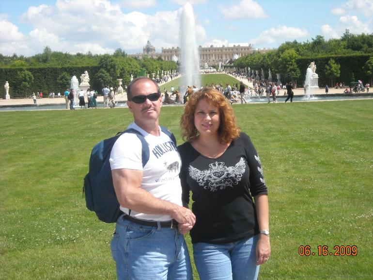 Me and my Hubby in Versailles - Versailles