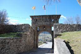 The entrance to the town , HONESTO A - April 2016