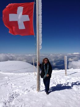 Jungfraujoch , Lisa Z - September 2015