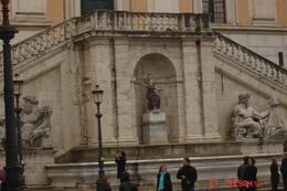 Piaza Venezia, also known as the Wedding Cake. - April 2008
