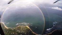 double circle rainbow , Mary F - September 2016