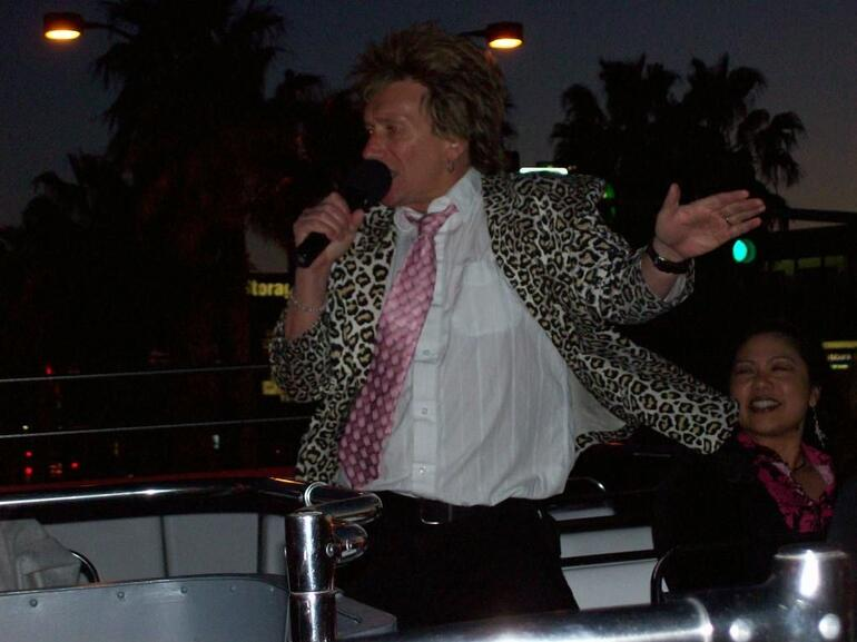 Rod Stewart was our host! - Las Vegas