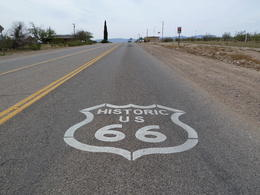 We actually drove down Route 66 into Oatman Arizona! , Madeleine - October 2012