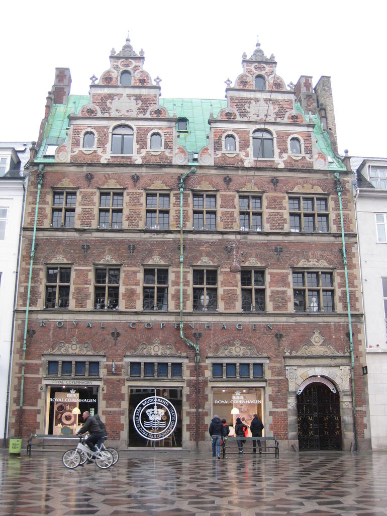Royal Copenhagen Building - Copenhagen