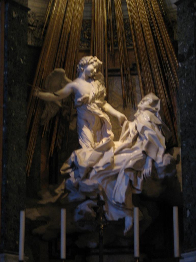 Santa Maria della Vittoria Ecstasy of St. Theresa - Rome