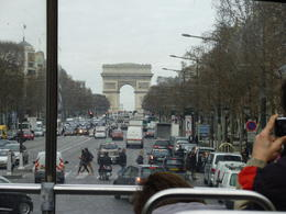 Arc de triumph in the distance , Gary - May 2011