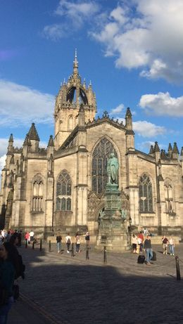 We walked by the St. Giles Cathedral. , Patrick B - August 2016