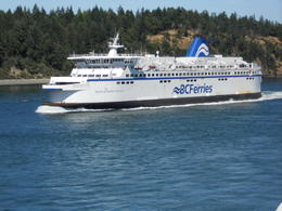 This is a passing ferry, but same as the one we are on. , Terrence C - July 2011