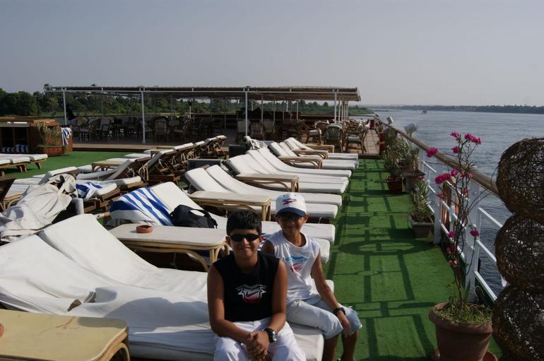 Upper deck - Aswan