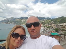 ADRIANA AND PHILIP FROM MALTA WE ARE IN AMALFI , adriana1966 - July 2016