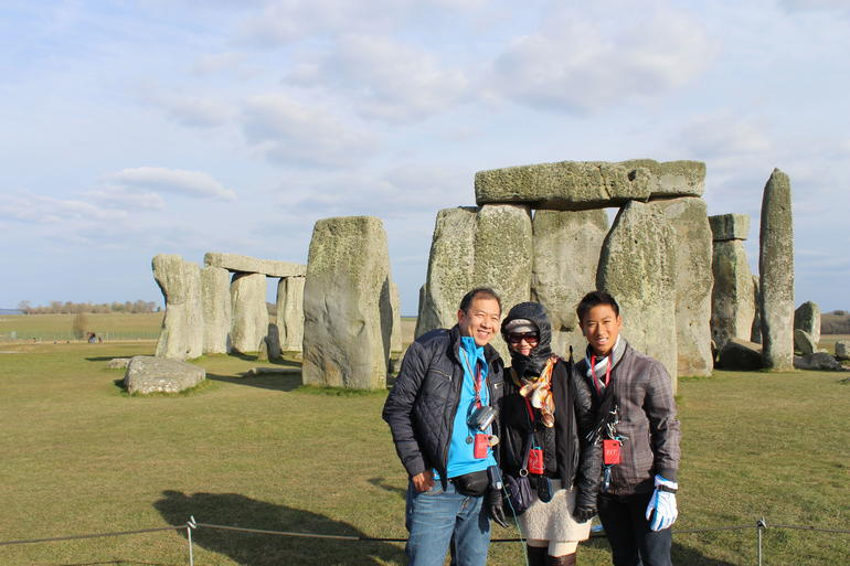 and quot;Family bonding time at Stonehenge and quot; - London