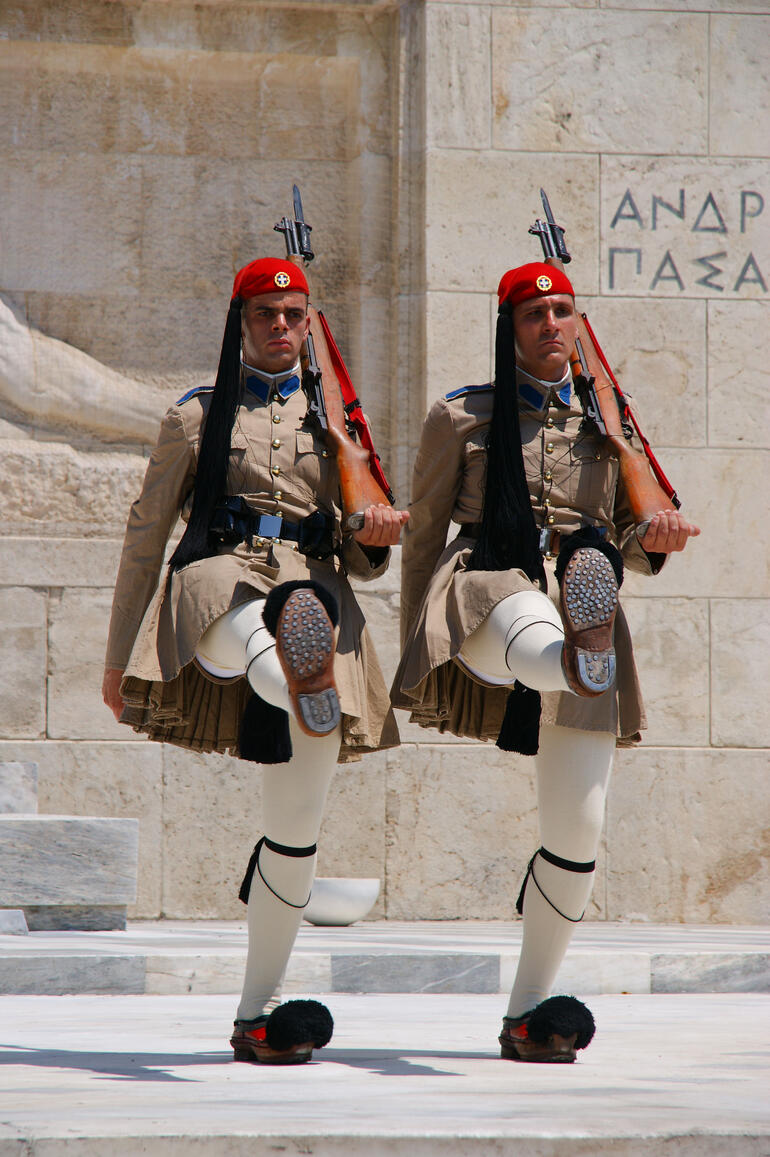 Athens Solder Marching -