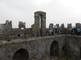 Atop the Blarney castle , LAFRAGIA M - June 2012