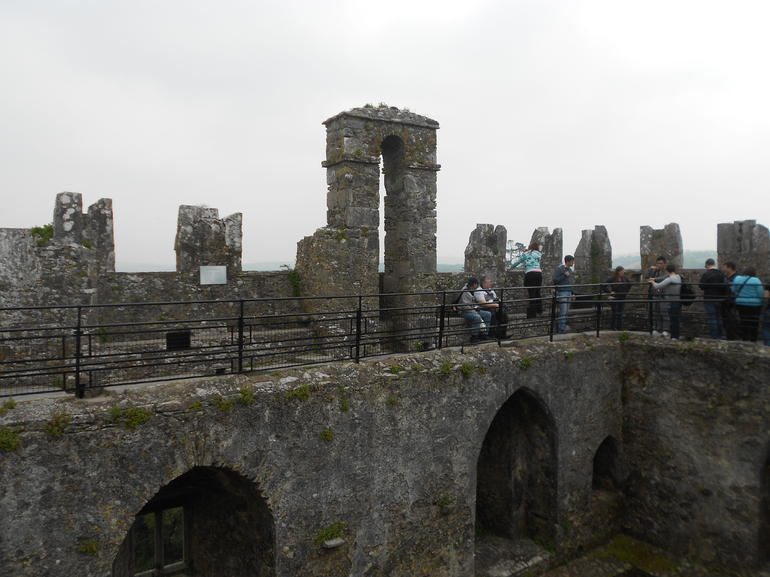 Atop the Blarney castle - Dublin