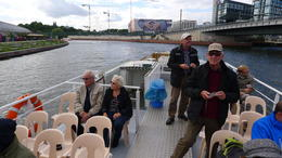Fin sejltur på Spree , Freddie P - September 2013