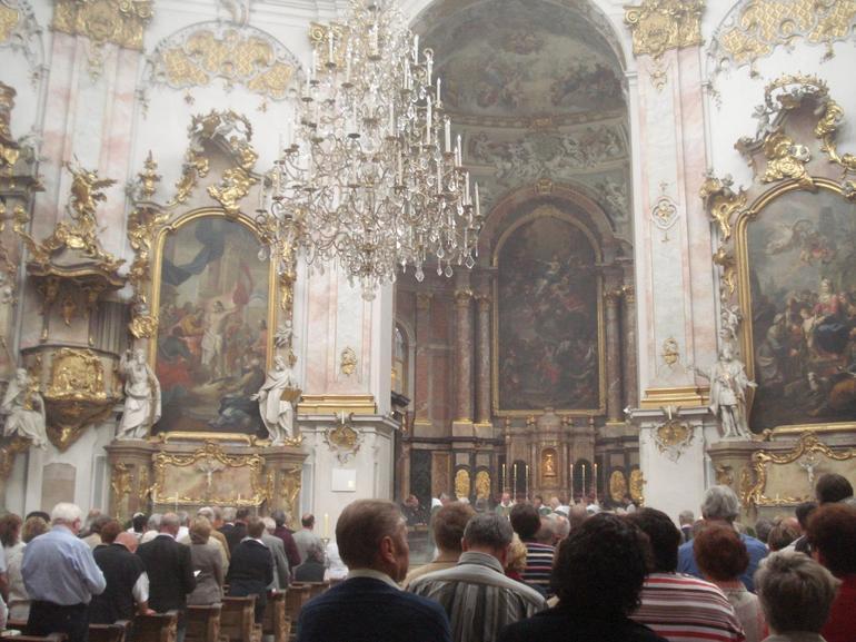 Inside Ettal Monastery - Munich