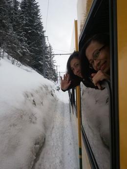 The train ride was very fun! , Lin M - April 2012