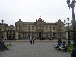 Lima Presidential Palace (where the President works but doesn't live!)., Bandit - June 2012