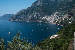 Driving into Positano, Italy , retiredone2007 - September 2016