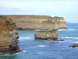 Looking east from Loch Ard Gorge. The sheer cliff walls bring a majesty of their own into this place. , Geoff P - January 2011