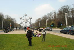 What was once a commemorative for an Expo held earlier in Brussels has now become a landmark. , Catherine C - May 2012