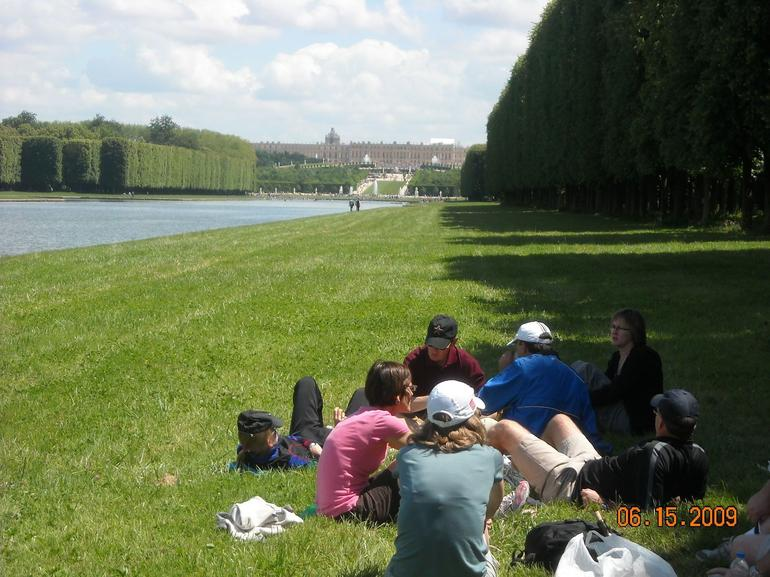 The Spot Where We Had Our Picnic - Paris